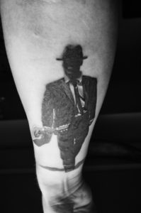 Robert Johnson blues tattoo